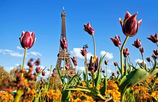 Viajes por Europa en Primavera