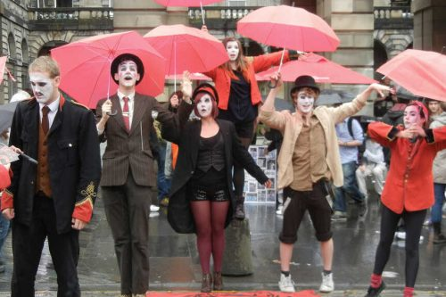 The Edinburgh Fringe Festival