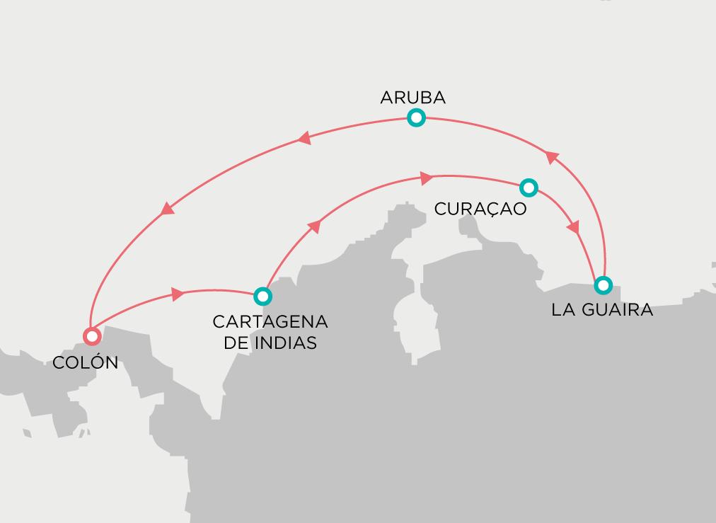 itinerario-antillas-caribesur