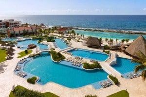 Hard Rock Hotel Riviera Maya Aerial Of Hacienda Pool - México: Cancún Y Riviera Maya   Viajes Y Paquetes 2021