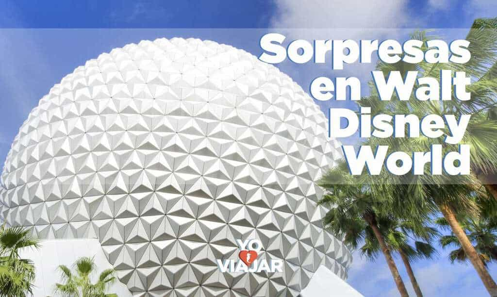 Grandes sorpresas en Walt Disney World