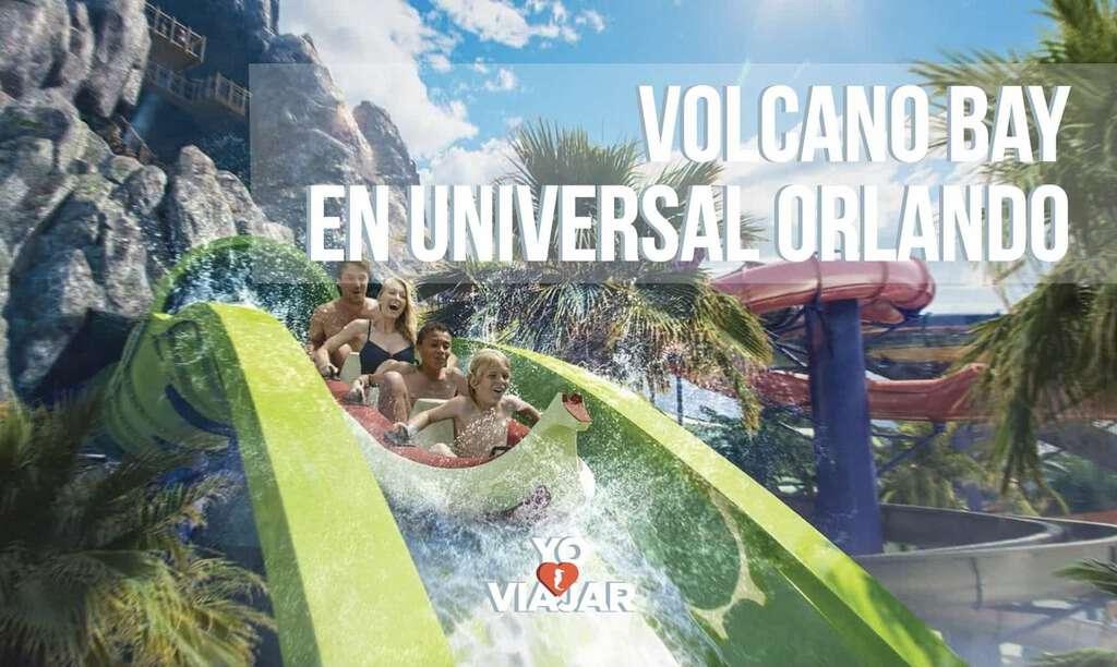 ¿Ya conoces Volcano Bay en Universal Orlando Resort?