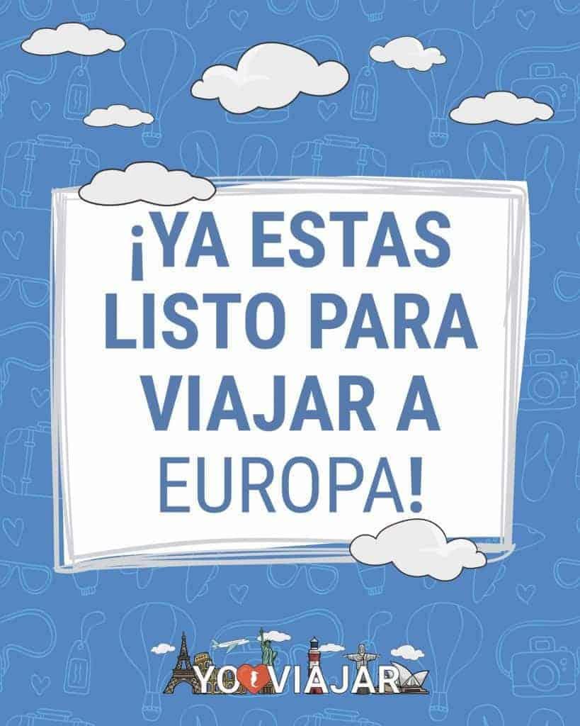 De viaje a Europa