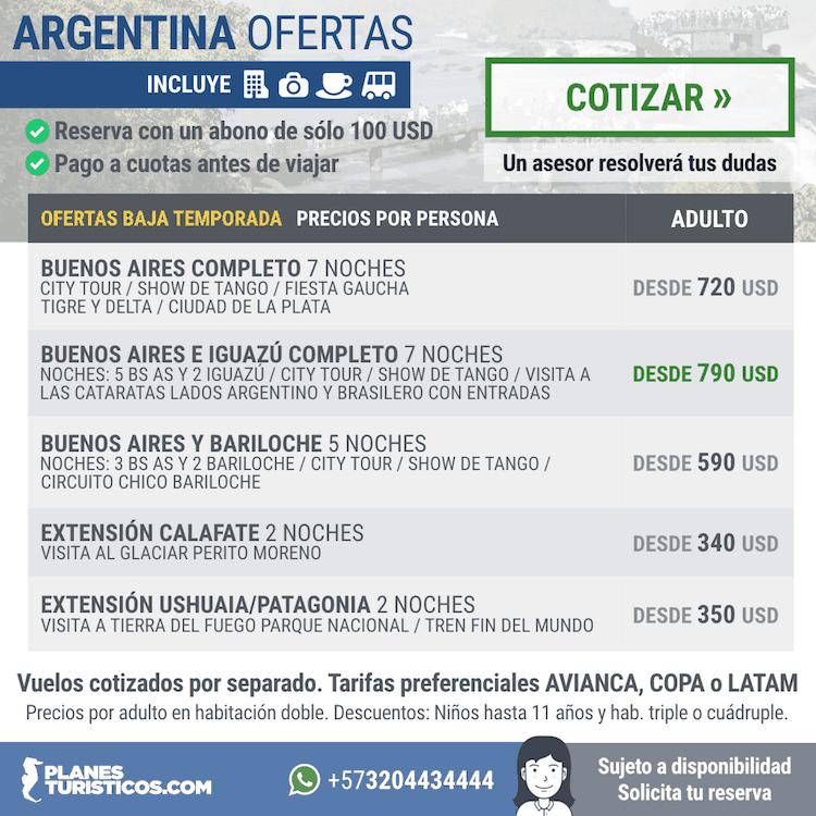 ARGENTINA DICIEMBRE - Argentina Tours & Paquetes Vacacionales