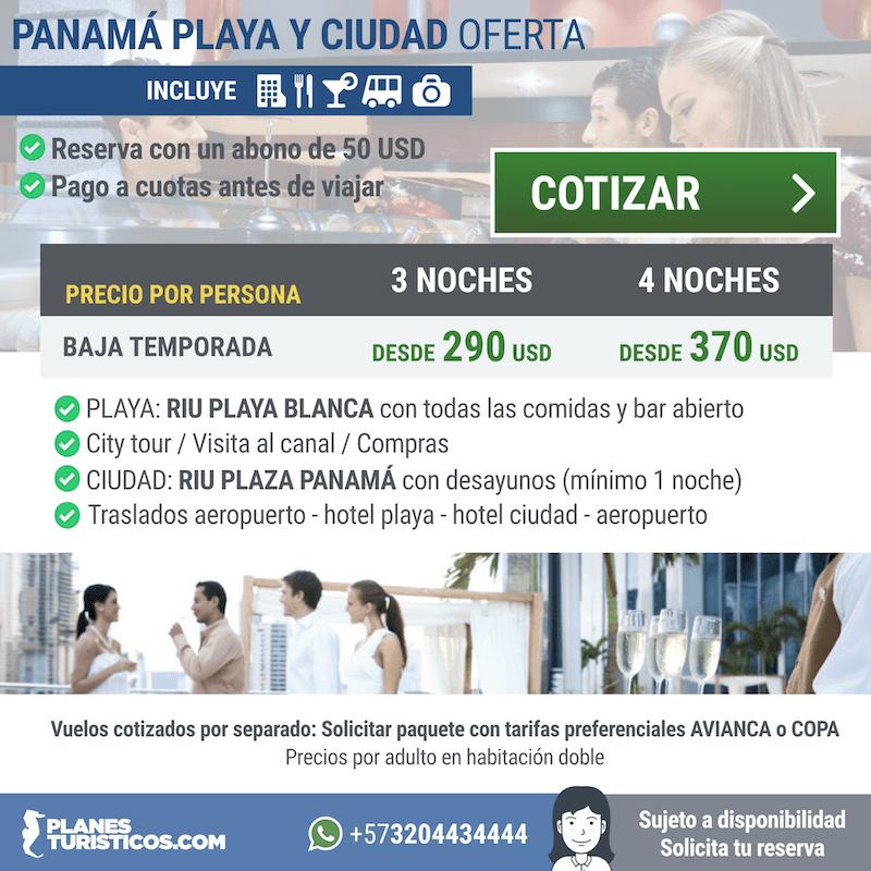PANAMÁ - PLAYA Y CIUDAD