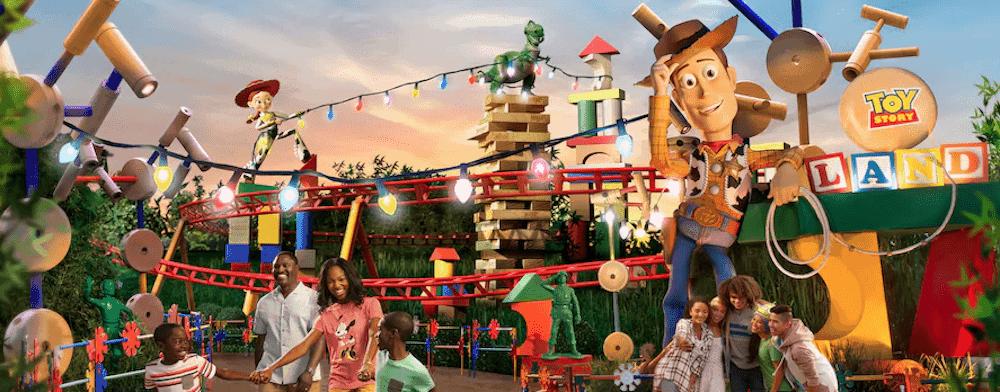 Toy Story Land - Nuevas Atracciones En Orlando | Disney Y Universal