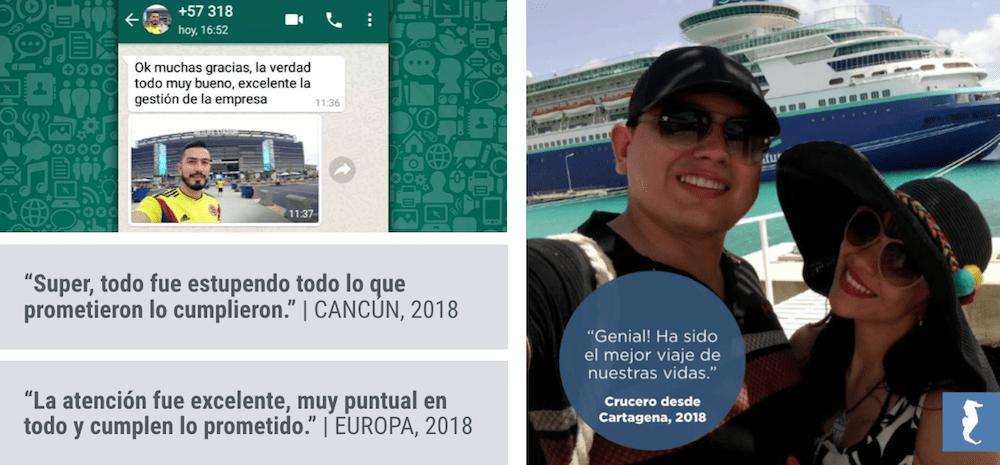 COMENTARIOS DE CLIENTES PLANESTURISTICOS.COM