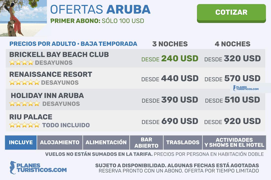 Planes en Aruba: La Isla Feliz