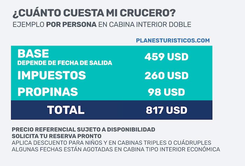 CRUCERO PULLMANTUR PRECIO - Cruceros desde Cartagena por el Caribe sin Visa