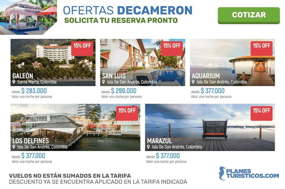 Hoteles Decameron: Planes y paquetes todo incluido