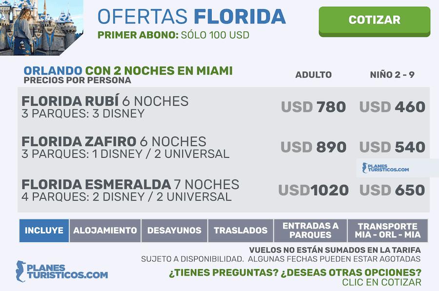 Florida: Miami y Orlando | Viajes y Paquetes