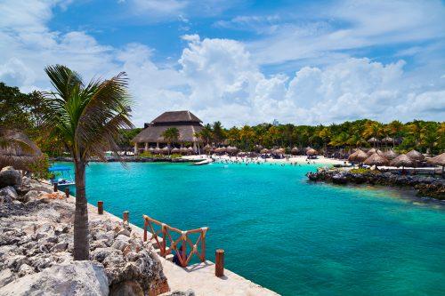 Canva Xcaret Beach In The Mayan Riviera - Ofertas