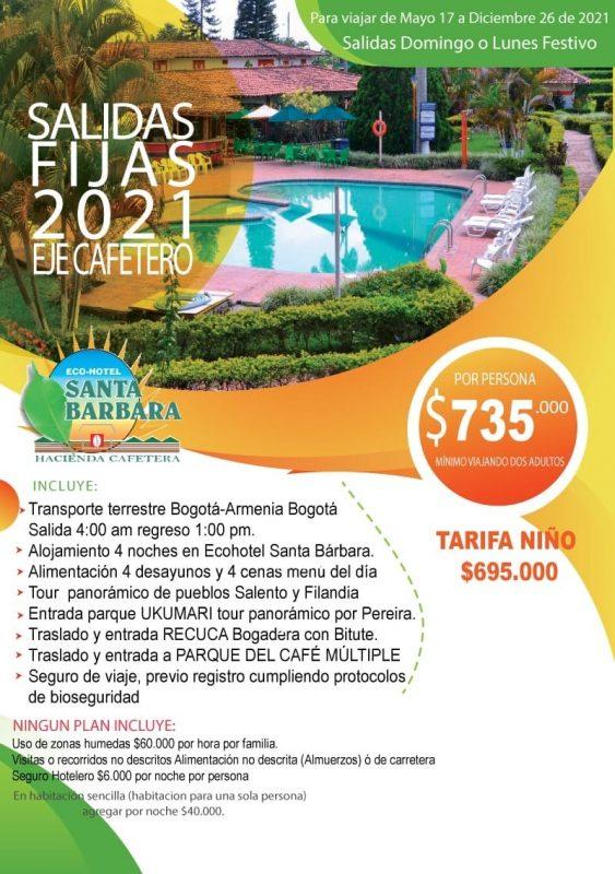 Eje Cafetero 4 Noches Desde Bogota Planesturisticos.com
