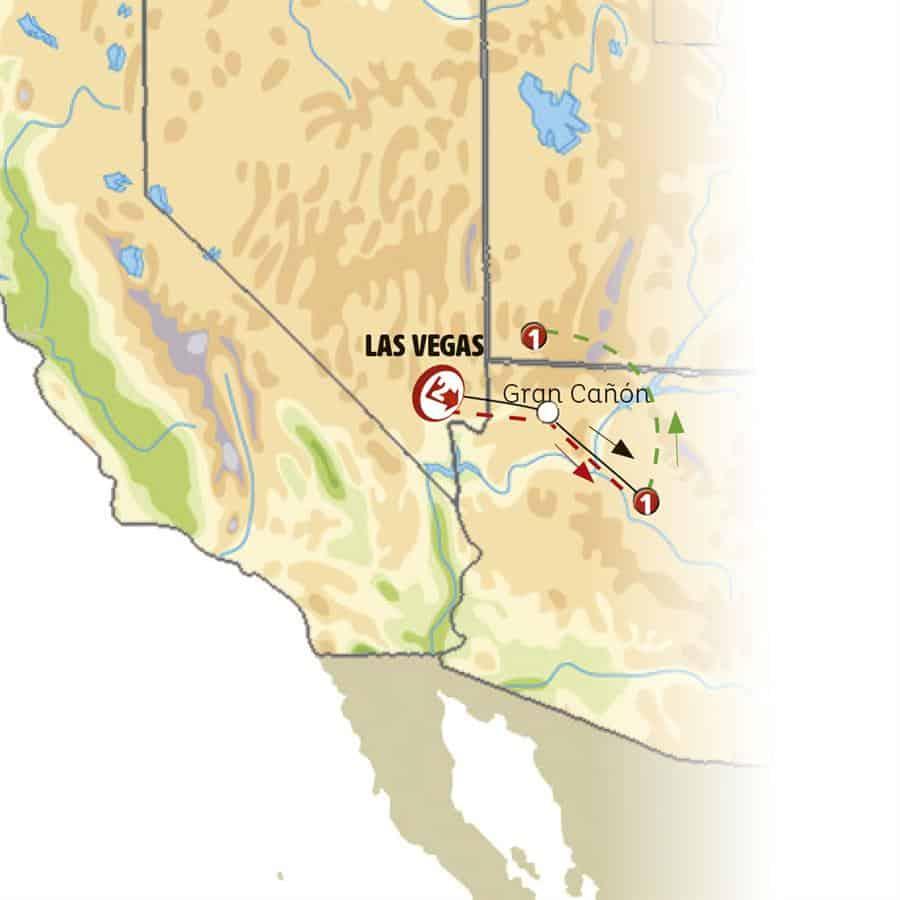 17363 - Las Vegas Y Gran Cañón / 4 Dias