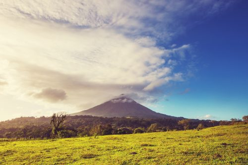 Canva Arenal Volcano In Costa Rica 500x333