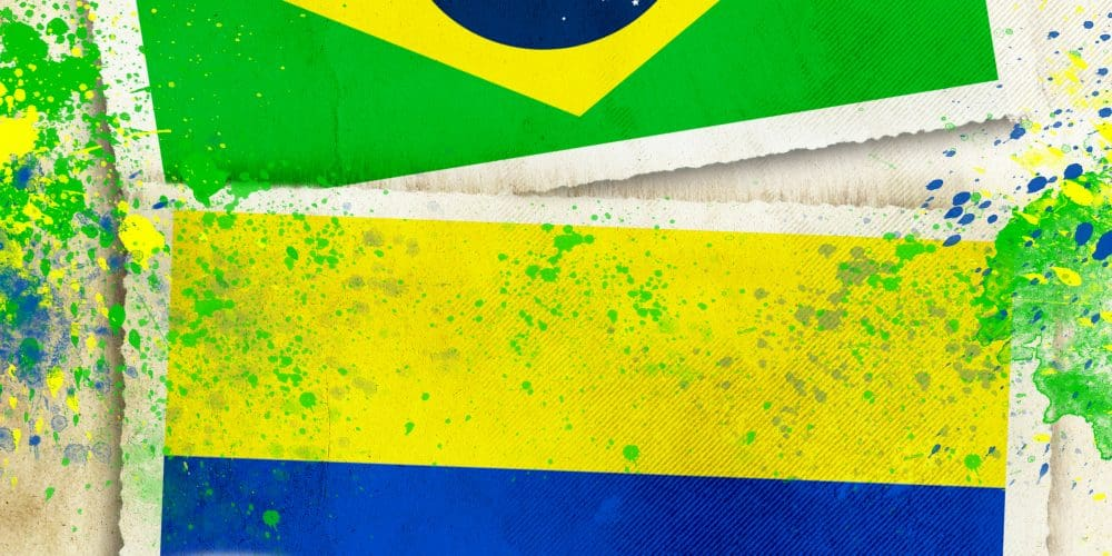 Canva Brazil vs Colombia footballl concept 1000x500 - Colombia vs. Brasil en Miami- 4 Días 3 Noches