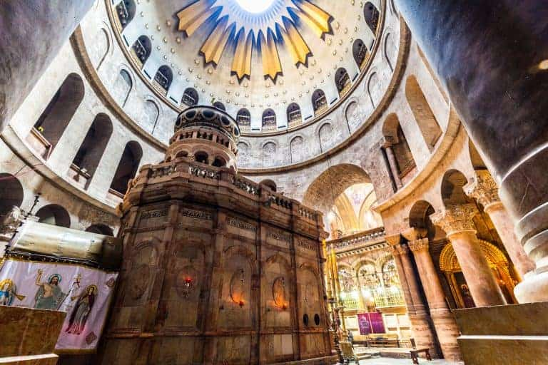 Canva View of church of the Holy Sepulchre 768x512 - Tierra Santa - Israel