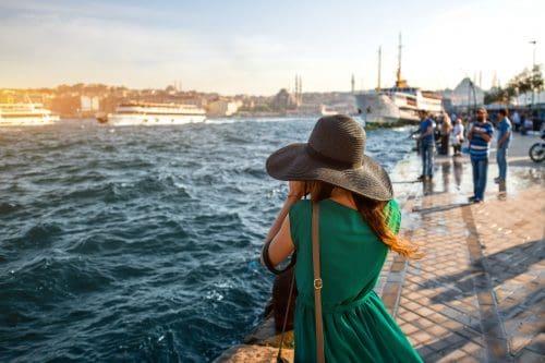 Estambul, Turquía, Bosforo, Chica