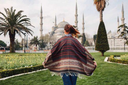 Mesquita Aya Sofia Estambul Turquía Con Planesturisticos.com