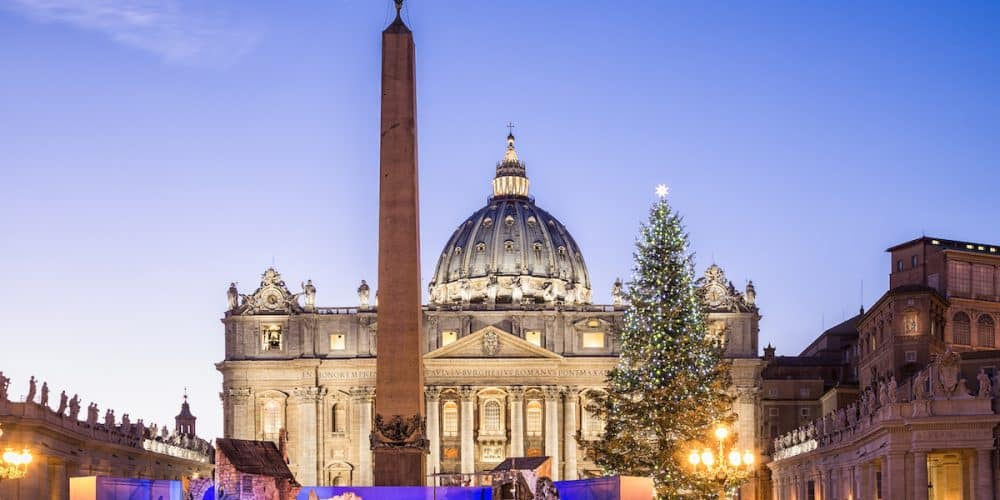 EUROPA NAVIDAD VATICANO 1000x500 - Oferta Europa Fin de Año 17 días con vuelos | Diciembre