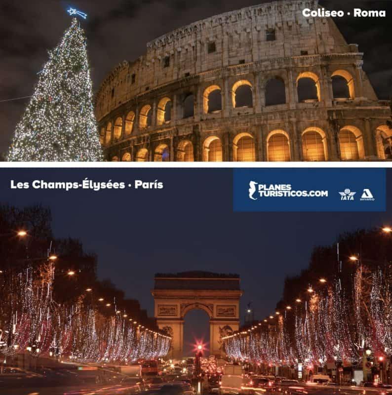 Navidad y Fin de Año en Europa