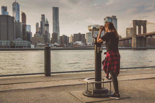 Enjoying The New York View