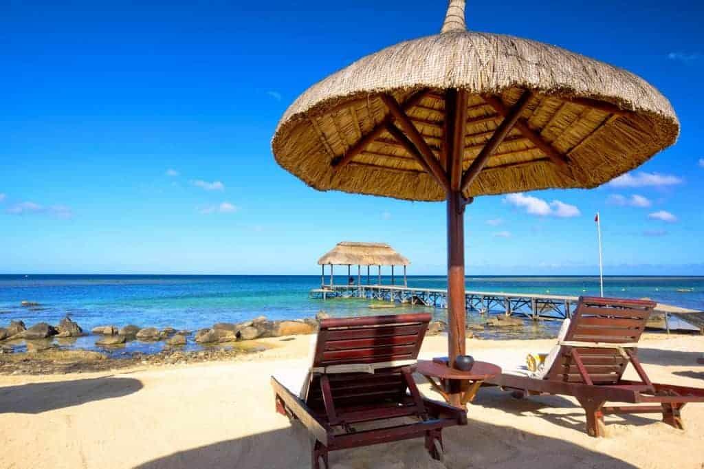 Playa En Mauricio