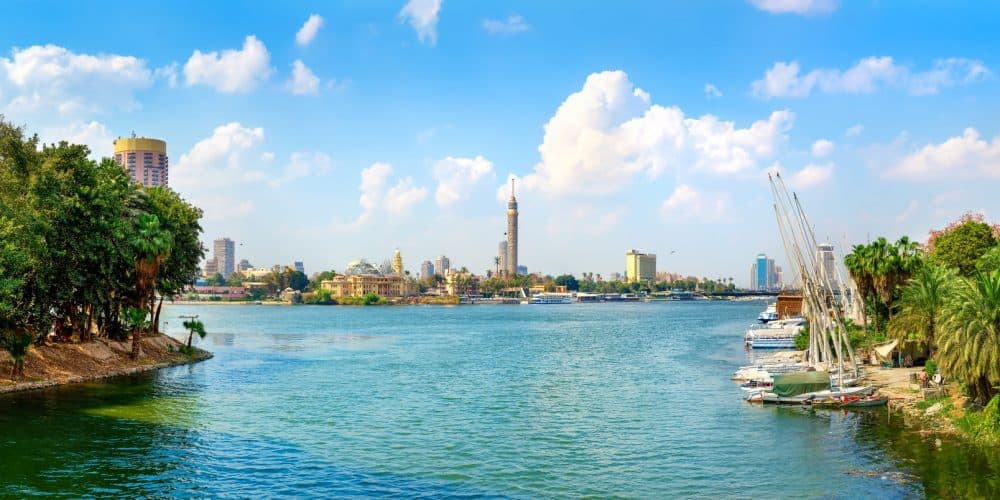 Nile and Cairo