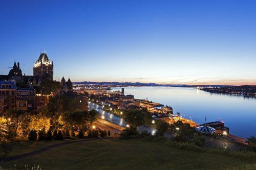 Québec City panorama