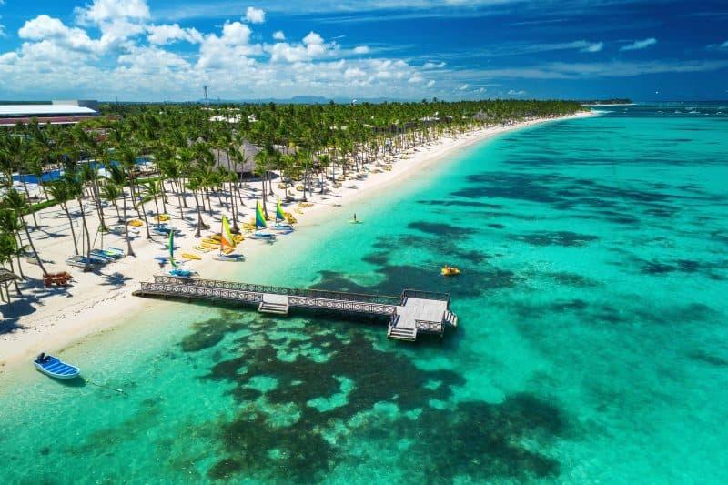 Canva Aerial Drone View Of Caribbean Resort Bavaro Punta Cana Dominican Republic 1 Min - Punta Cana: Planes Todo Incluido