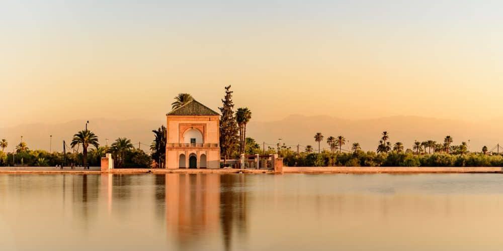Canva Calles De Marrakech Marruecos - Marruecos Express 5 Días / 4 Noches