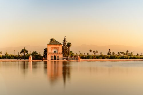 Canva Calles De Marrakech Marruecos - Marruecos