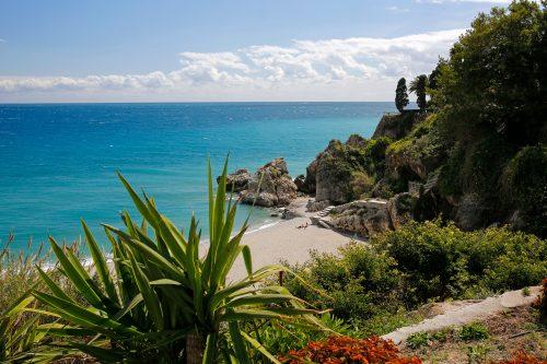 Canva Carabeillo beach in Nerja Costa del Sol Spain 500x333 - Andalucía con Toledo 6 Días / 5 Noches