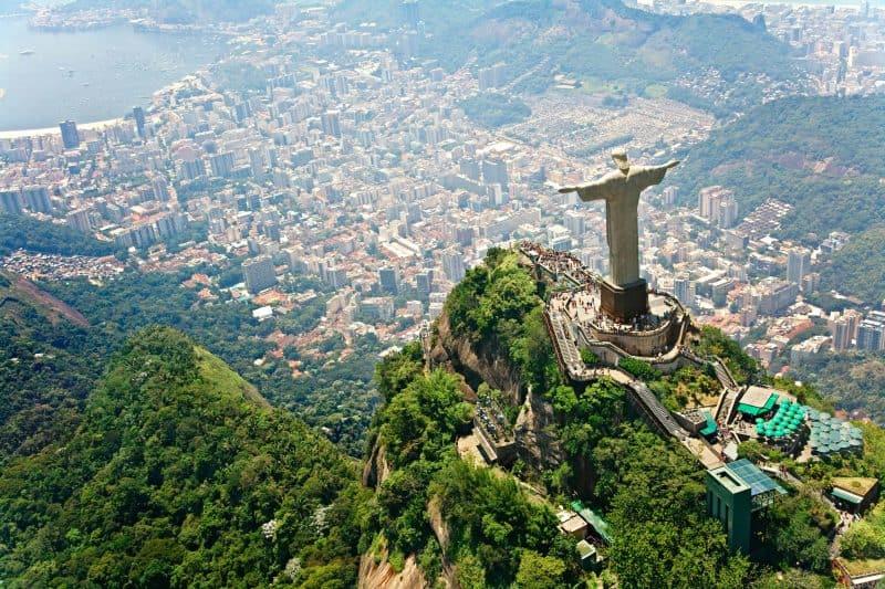 Canva Christ The Redeemer On Corcovado Mountain Rio De Janeiro Brazil Min - Brasil Tours &Amp; Paquetes Vacacionales