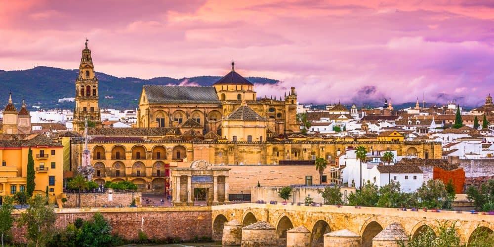 Canva Cordoba Spain Skyline 1 1000x500 - Andalucia y Marruecos 10 Días / 9 Noches