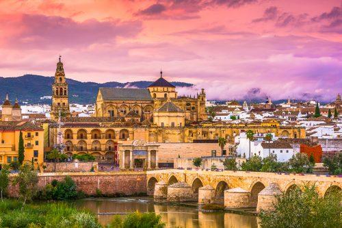 Canva Cordoba Spain Skyline 500x333 - Portugal Andalucia y Costa Mediterranea 12 Días / 11 Noches