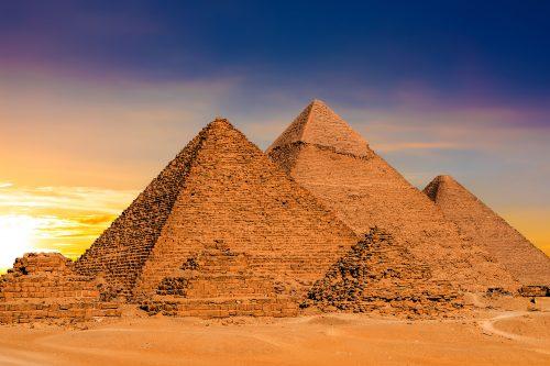 Canva Great Pyramids In Egypt - Egipto