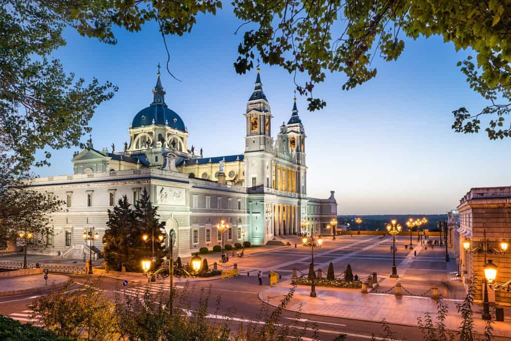Canva Madrid Spain Cathedral 1200x800