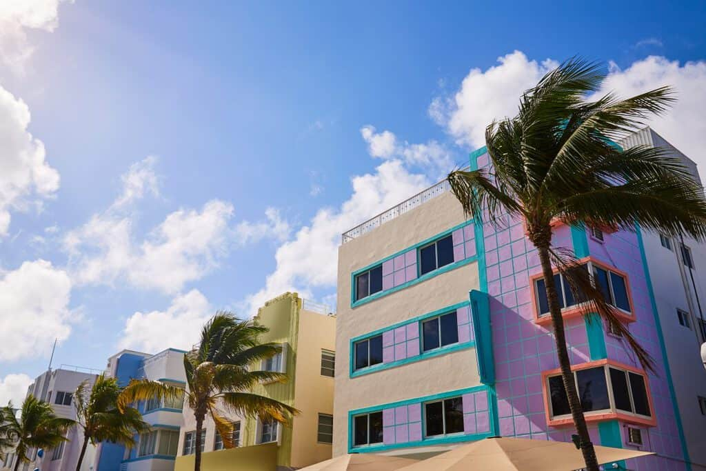 Canva Miami Beach Ocean Boulevard Art Deco Florida - Visita Florida