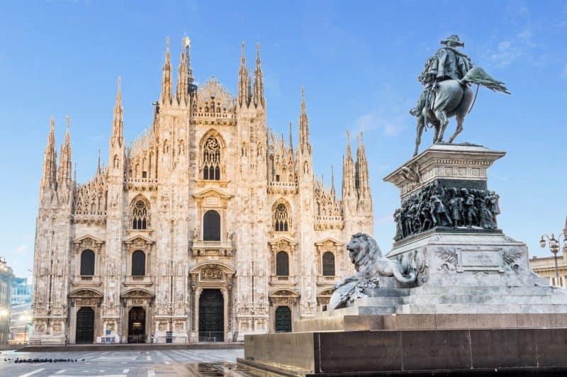 Canva Milan Cathedral Domeitaly - Viajes Por Europa: Los Mejores 2021 - 2022
