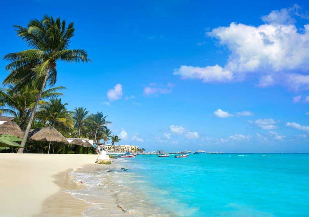 Canva Playa Del Carmen Beach In Riviera Maya - Riviera Maya, México - El Paraíso Definido