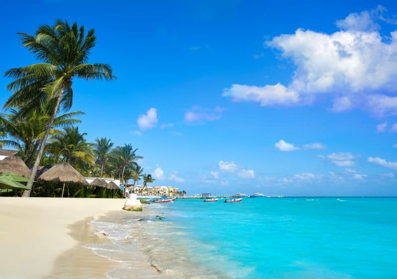 Canva Playa Del Carmen Beach In Riviera Maya - México: Cancún Y Riviera Maya | Viajes Y Paquetes 2021