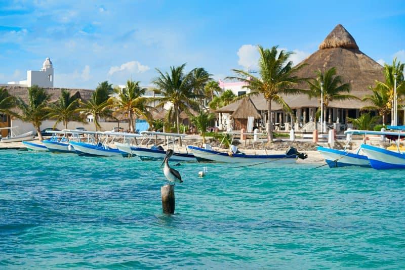 Canva Puerto Morelos Beach In Riviera Maya - México: Cancún Y Riviera Maya | Viajes Y Paquetes 2021