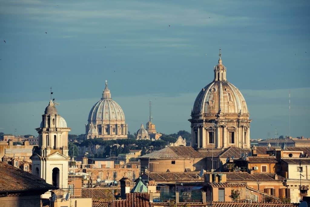 Canva Rooftop View Of Rome - Roma - Lugares Para Ver, Lugares Para Alojarse
