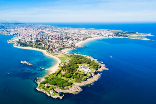 Canva Santander City Aerial View Spain - Europa B