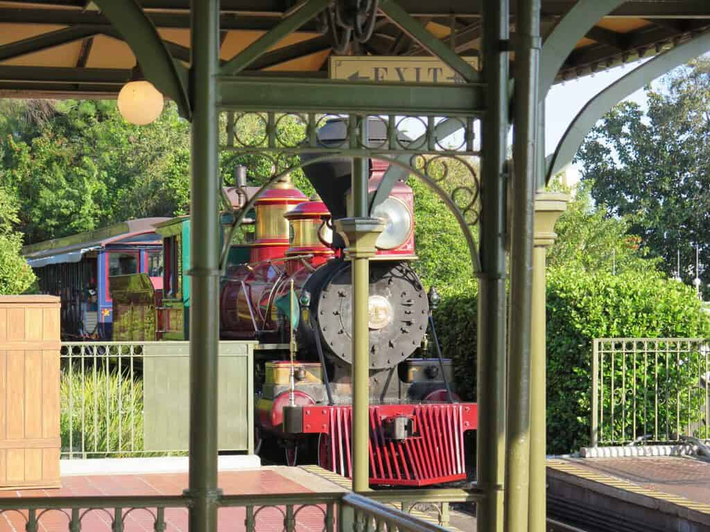 Canva Train At Magic Kingdom Rail Station 1200x900