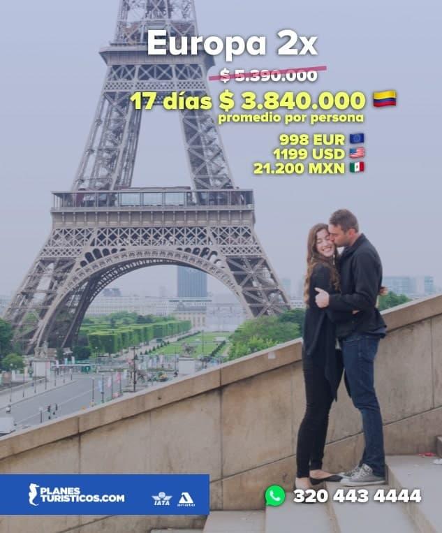 EUROPA2XNN min - Europa 2x | Oferta Flash! Precio increíble
