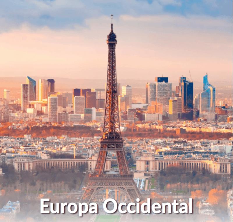 Mapaplus Europa Occidental Min - Mapaplus: Viajes Y Tours Por Europa