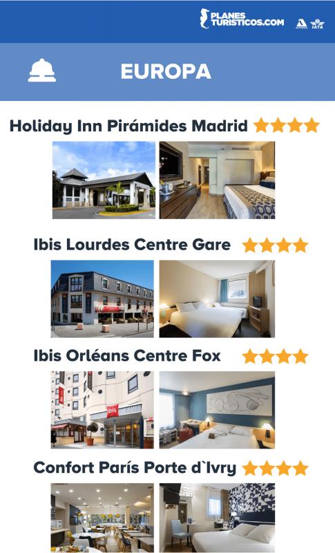Oferta De Hoteles En Europa Viajando Con Planesturisticos.com