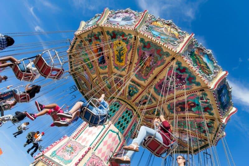 Florida Ferris Wheel In Tampa Attraction Carousel Min 1 - Florida: Miami - Orlando Viajes, Paquetes Turisticos Y Turismo